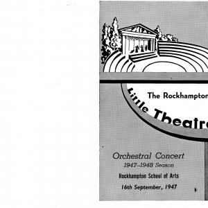 1947 Orchestral Concert