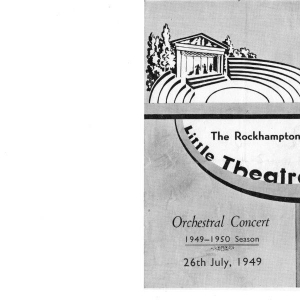 1949 Orchestral Concert