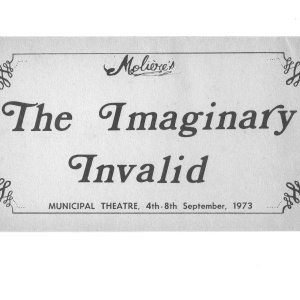 1973 Sept The Imaginary Invalid284