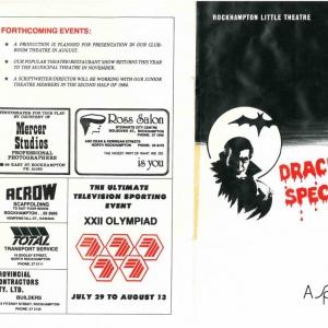 Dracula Spectacular 1984-1
