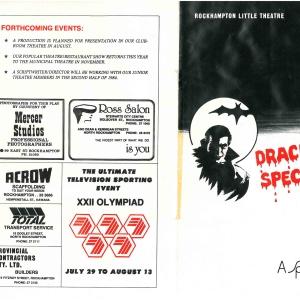 1984 Dracula Spectacular
