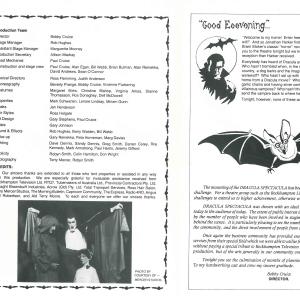 Dracula Spectacular 1984-3