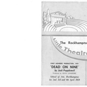 Dead on Nine 1959
