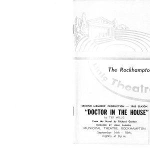 1965 September Doctor in the House099