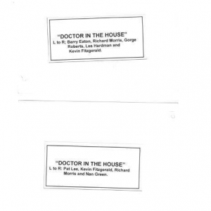 1965 September Doctor in the House112