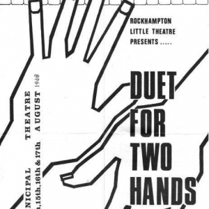 1968 August Duet for 2 Hands198