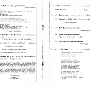 1946 Oct First Orchestral Concert050