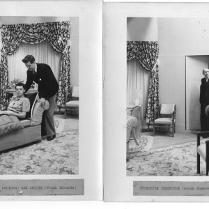 1945 Full House Lois Lenihan and Frank Edwards, Brian Dunbavand