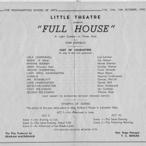 1945 Full House program004