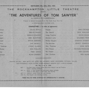 1958 Nov Adventures of TomSawyer329