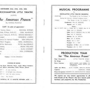 1966 Nov The Amorous Prawn156