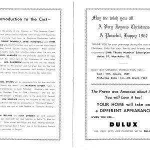 1966 Nov The Amorous Prawn157