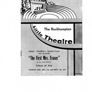 1951 Sept The First Mrs Fraser193